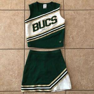 BUCS Adult Cheerleading Uniform Halloween